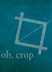 crop photoshop adobe design designer editor oh ohcrop funny humor blue typography graphicdesign webdesign graphicdesigner