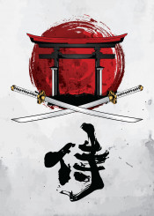 ronin warrior shinobi samurai japanese japan tori gate fighter martial arts martialarts sword katana budo bushido