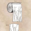 Toilet Paper - patent art - 1891 -  Wheeler