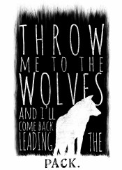 wolf wolves typography typo pack illustration quote digital art design minimal minimalist black simple and white monochrome