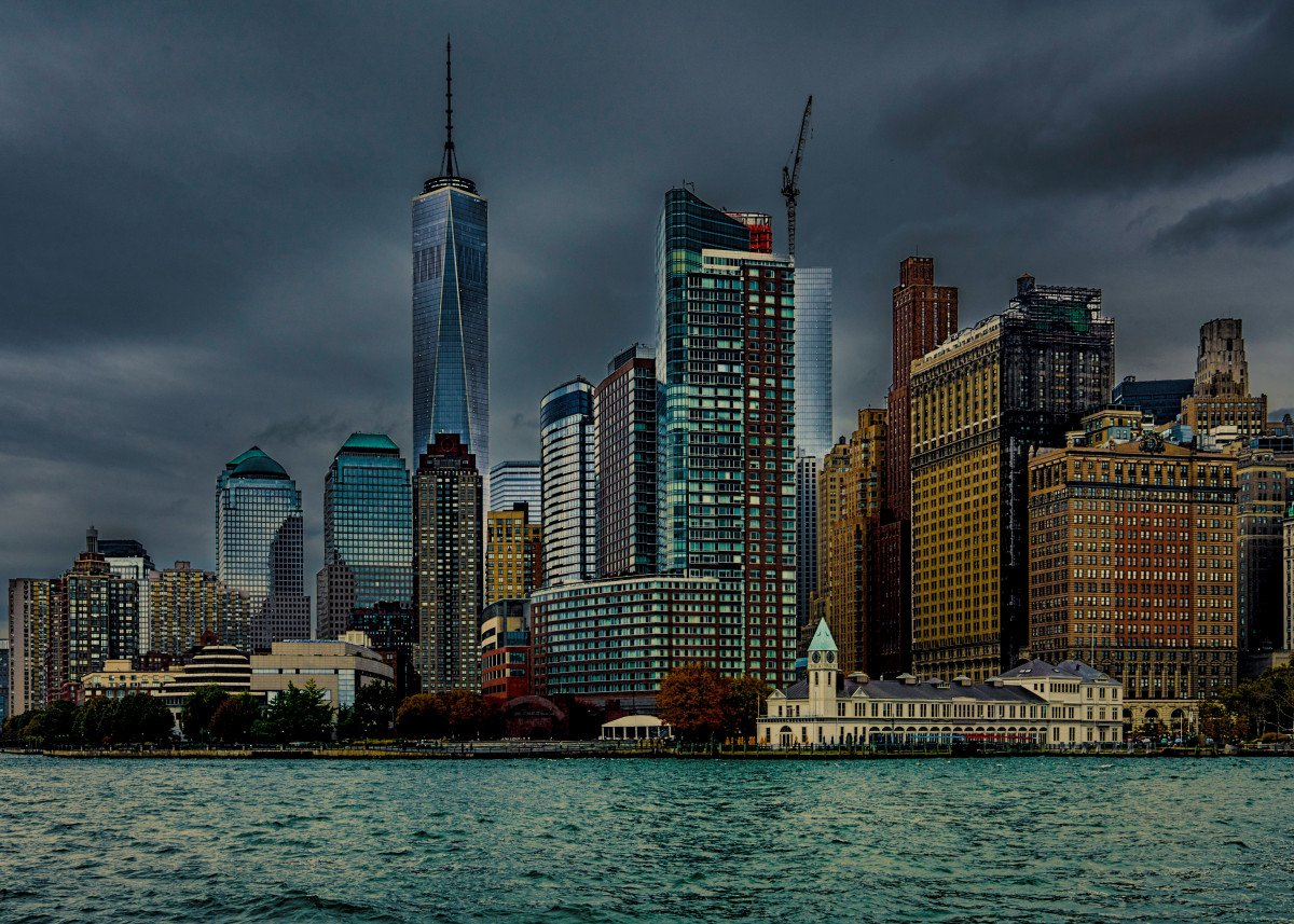 A Gloomy Day In Battery Park, New York City 166736