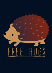animal humour fun funny lol type speck free hugs hedgehog cute cuteness nature awhh forest prickles