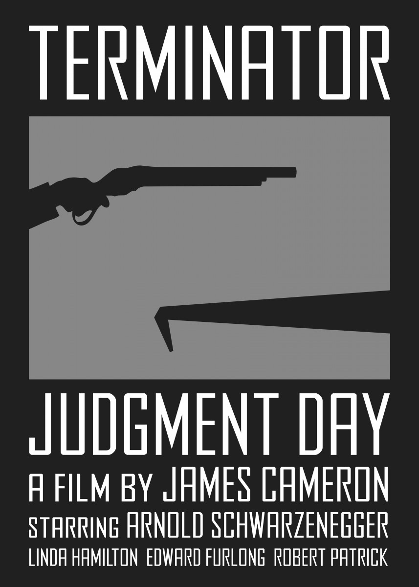 'Terminator 2: Judgment Day' alt. movie poster. 170174