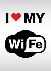 wifi internet net wierless love parody humor comic fun funny meme laugh laughter wife spouse