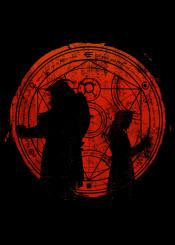 brothers fma fullmetalalchimest anime manga fanfreak red blood transmutation spell fancy