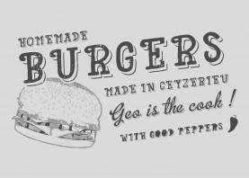 burgers food vintage vector types