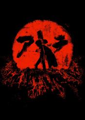 akira fanfreak nerd anime end blood moon crimson cool vintage