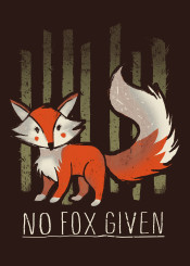 fox fucks given humour foxs cute animal orange nature forest funny lol poster love cuteness