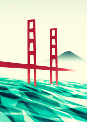 california sanfrancisco goldengate water sea ocean pacific mountain bridge