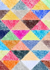 abstract triangle geometric texture colorful