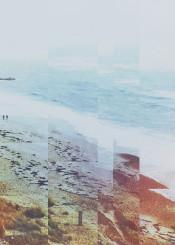 abstract landscape sea photo digital