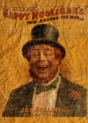 happy funny humour vintage vintageposter poster entertainment comedy musical beard retroposter retro