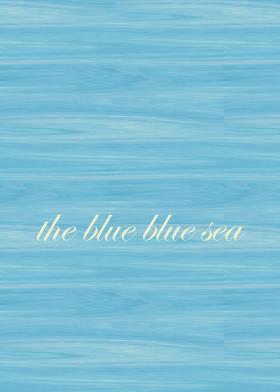 beachhouse beach sea ocean blue typography soothing relaxing water nautical