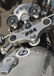 bsa british motorcycle motorbike