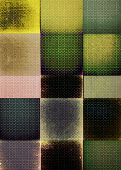 geometric squares checks shapes textures bold dark bright colorful series projectwork rosequarz blue green yellow gold modern decorative piaschneider