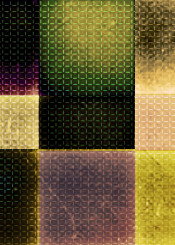 geometric bold dark bright green purple yellow modern decorative piaschneider squares checks textures structures