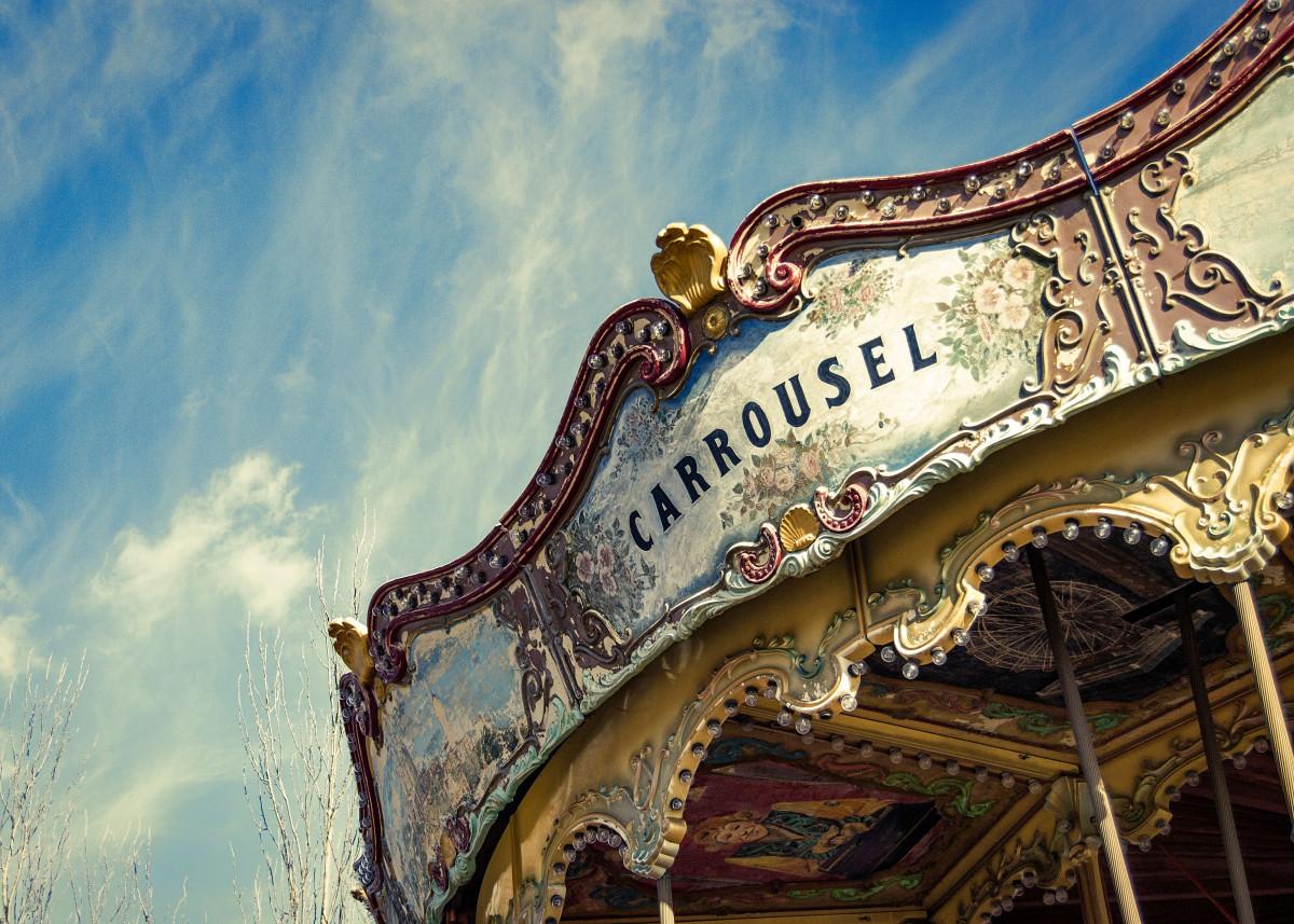 Carrousel in Tibidabo (Barcelona)