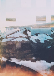 abstract landscape digital photo