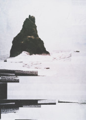 digital abstract landscape photo sea