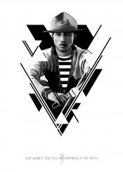 pharell music celebrity singer poster black white minimal minimalist artwork design minimalism illustration art graphic pop star