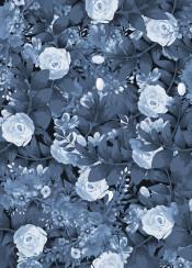 botanical garden folral flowers vintage black white elegent abstract trees nature
