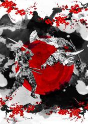 samurai ronin warrior bushido budo japanese japan sakura chery tree cherry warriors sword katana myamoto musashi