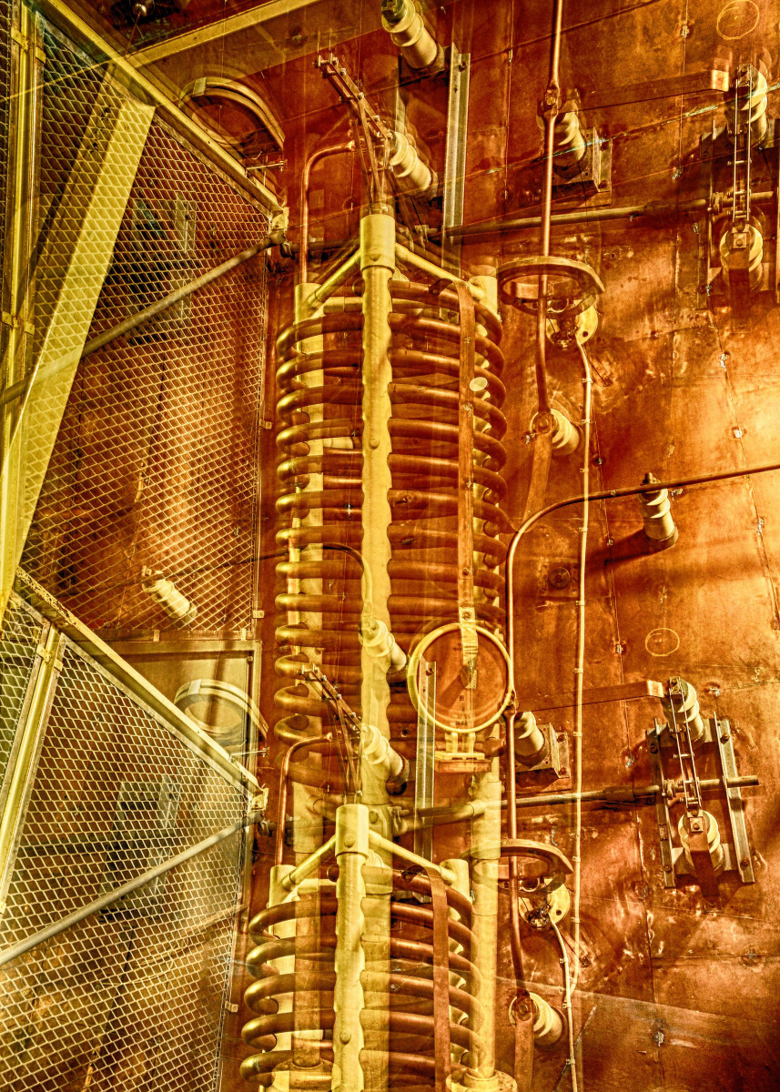 Abstract industrial cooper sound image 186231