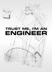 engineer trust me trustme geek funny fun laugh laughter blueprint plan engineering college
