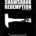 The Shawshank Redemption - A Minimal Movie Poster. A Film by Frank Darabont.