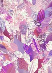 nature collage leaf pink plants petals trees