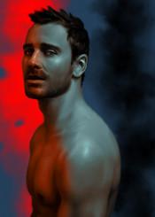 michaelfassbender fassbender actor moviestar hotactor magneto shame janeeyre android prometheus portrait celebrety