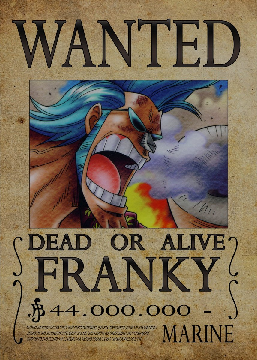 One Piece Wanted Franky | www.pixshark.com - Images ...