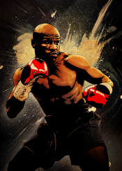 floyd mayweather pretty boy money boxing sport red gloves ring legend fighter fighting champion