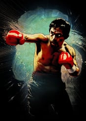 manny pacquiao boxing sport red gloves ring legend fighter fighting champion