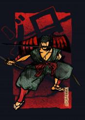 zoro one piece pirate samurai japanese swordsman sword cool hunter luffy straw hats