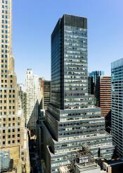 new york city cityscape buildings manhattan wall street sky blue design architecture