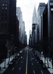 nyc tudor park road midtown manhattan fall chrysler chryslerbuilding iconic