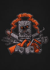 groovy boomstick necronomicon chainsaw ash army darkness movie tv