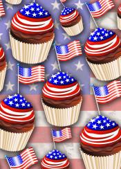 usa usaflag cupcakes starsandstripes patriotic food america unitedstatesofamerica bakery chocolate independenceday 4thofjuly fourthofjuly delicious pattern cupcakespattern usacupcakespattern red blue white