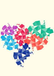 shapes pattern abstract triangle decoration color colorful geometric