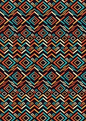 pattern shapes colour geometry native aztec