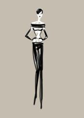 fashion design outfit creation sketch minimalist simple quicksketch
