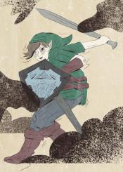 link legend of zelda grim gritty gaming gamer geek