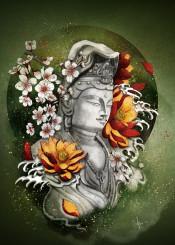lotus budha peace
