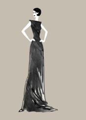 fashion fashionillustration fashionsketch couture paris gown dress glamour redcarpet fashiondesign