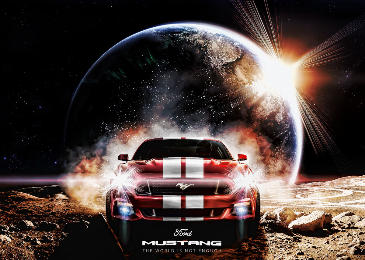 Ford Mustang The World Is Not Enough 201555