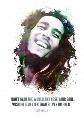 bob marley legend jamaica musician music artist jamaican african american water color black white painting texture quote swav cembrzynski amazing singer robert nesta