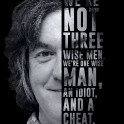 Top Gear's ex-host James May and his quote.