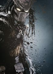 predator alien arnold schwarzenegger film splatter art work