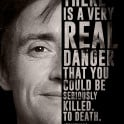 Top Gear's ex-host Richard Hammond and his quote.